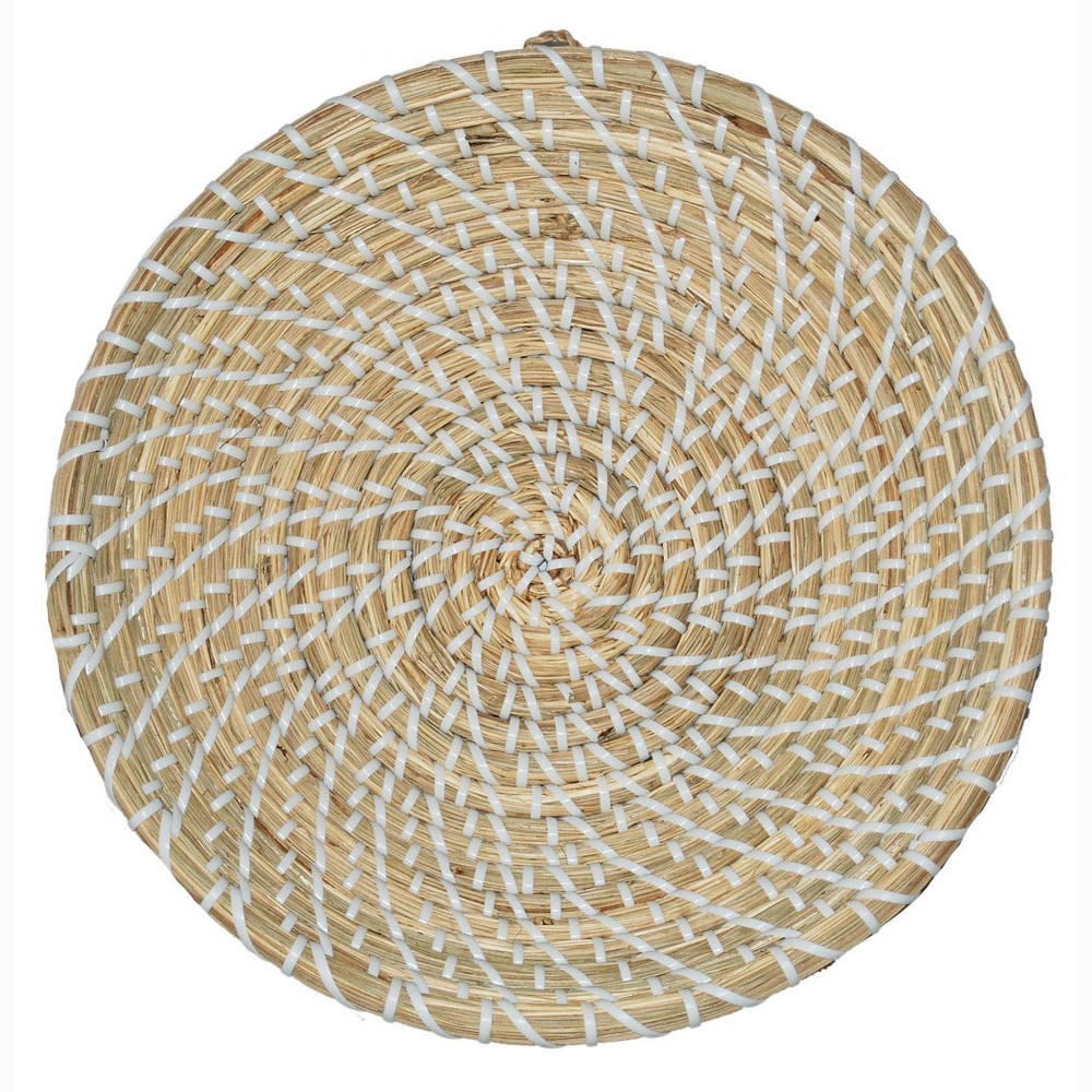 Sea Grass and Plastic String Wall Decor - Threshold, Natural