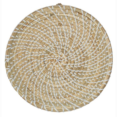 Sea Grass and Plastic String Wall Decor - Threshold™ - image 1 of 1
