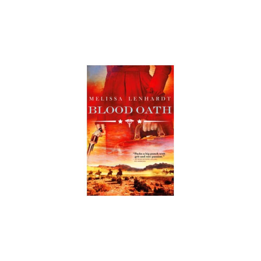 Blood Oath - (Sawbones) by Melissa Lenhardt (Paperback)
