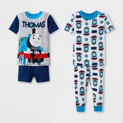 f52716adae Toddler Boys  Thomas   Friends 4pc Pajama Set - Navy White   Target