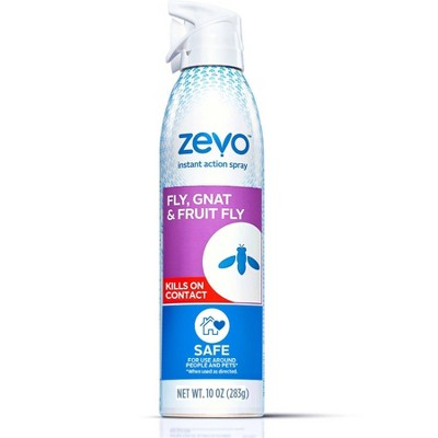 Zevo Fly Gnat and Fruit Fly Insect Spray - 10oz