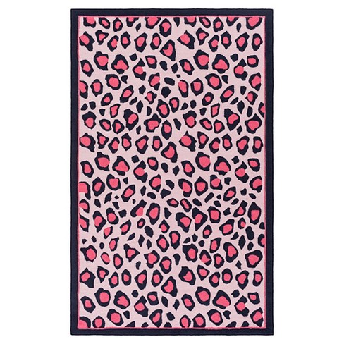 Elease Kid's Rug Bright Pink - Surya - image 1 of 1
