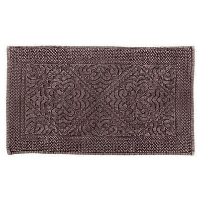 """21""""x34"""" Timeless Stonewash Collection 100% Cotton Bath Rug - Better Trends"""