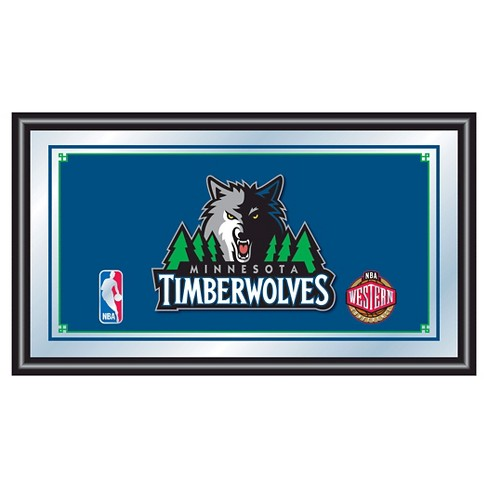 Minnesota Timberwolves Team Logo Wall Mirror - image 1 of 1