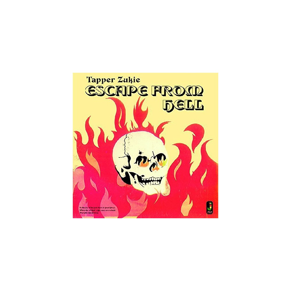 Tapper Zukie - Escape From Hell (CD)