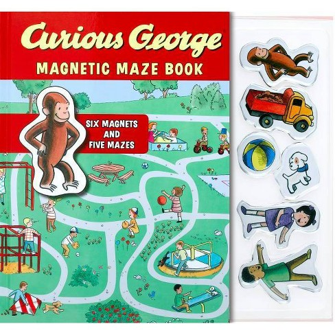 Curious George Magnetic Maze Book - by  H A Rey (Hardcover) - image 1 of 1