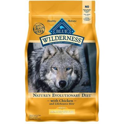 Dog Food: Blue Buffalo Wilderness Adult Healthy Weight