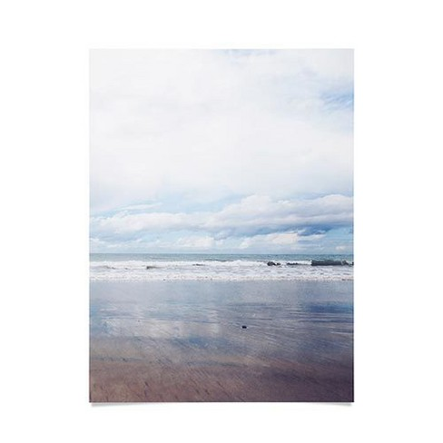 """18""""x24"""" Bree Madden Breathe Sea Unframed Wall Poster Print Blue - Deny Designs - image 1 of 1"""