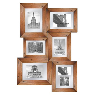 Pro Tour Memorabilia Multiple Image Frame - Wood