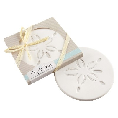 12ct Kate Aspen  By the Shore  Sand Dollar Coaster