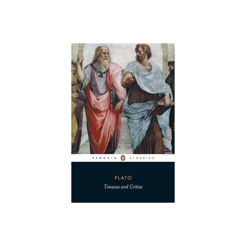 Timaeus And Critias Penguin Classics Annotated Paperback