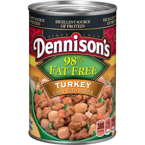 Dennison's 98% Fat Free Turkey Chili with Beans - 15oz - image 1 of 1