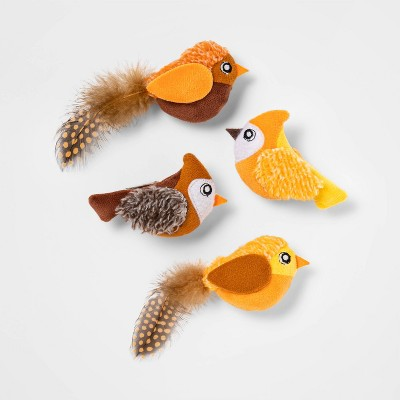 Fall Birds Cat Toy - 4pk - Hyde & EEK! Boutique™