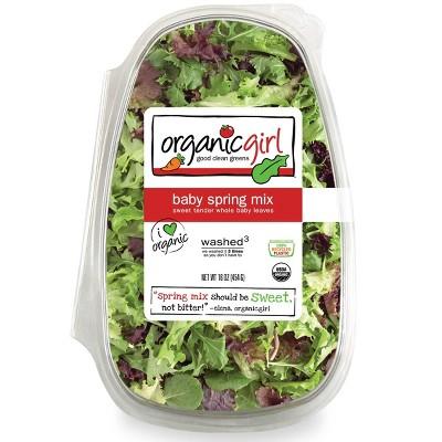 Organic Girl Baby Spring Mix - 16oz
