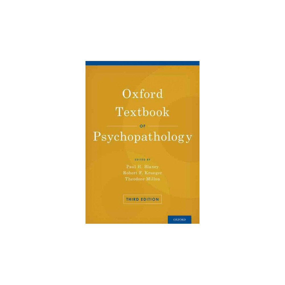 Oxford Textbook of Psychopathology (Hardcover)