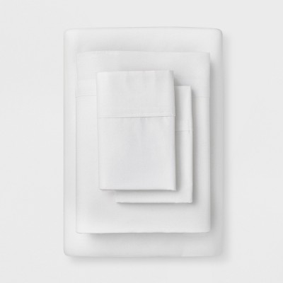 Solid Easy Care Sheet Set (Queen)White - Made By Design™