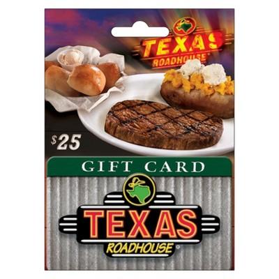 Texas Roadhouse $25 Gift Card