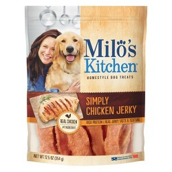 Milo's Premium Chicken Jerky Treat 12.5oz