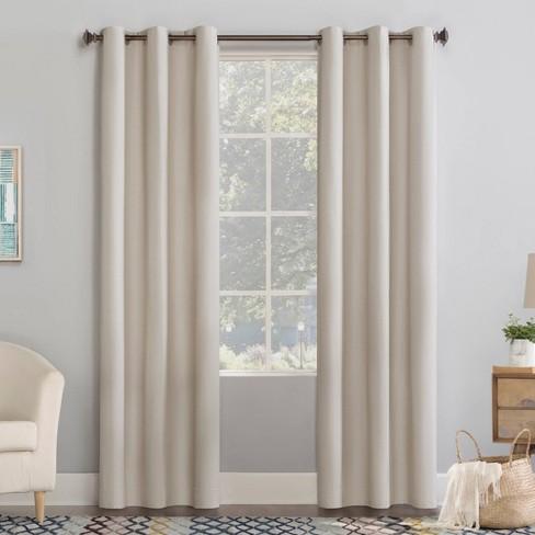 Lindstrom Textured Draft Shield Fleece Insulated Energy Saving Grommet Top Room Darkening Curtain Panel - No. 918 - image 1 of 4
