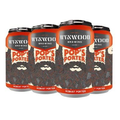 Wynwood Pop's Porter Beer - 6pk/12 fl oz Cans