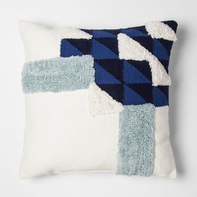 Blue Color Block Throw Pillow - Project 62™ + Nate Berkus™