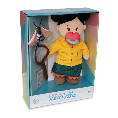 The Manhattan Toy Company Wee Baby Stella Dolls Deluxe - Natural Historian