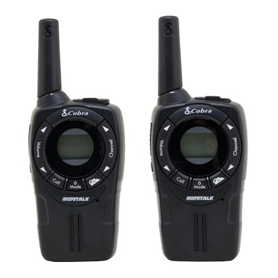 Cobra CXT235 MicroTalk 20 Mile FRS/GMRS 22 Channel 2 Way Walkie Talkie (Pair)