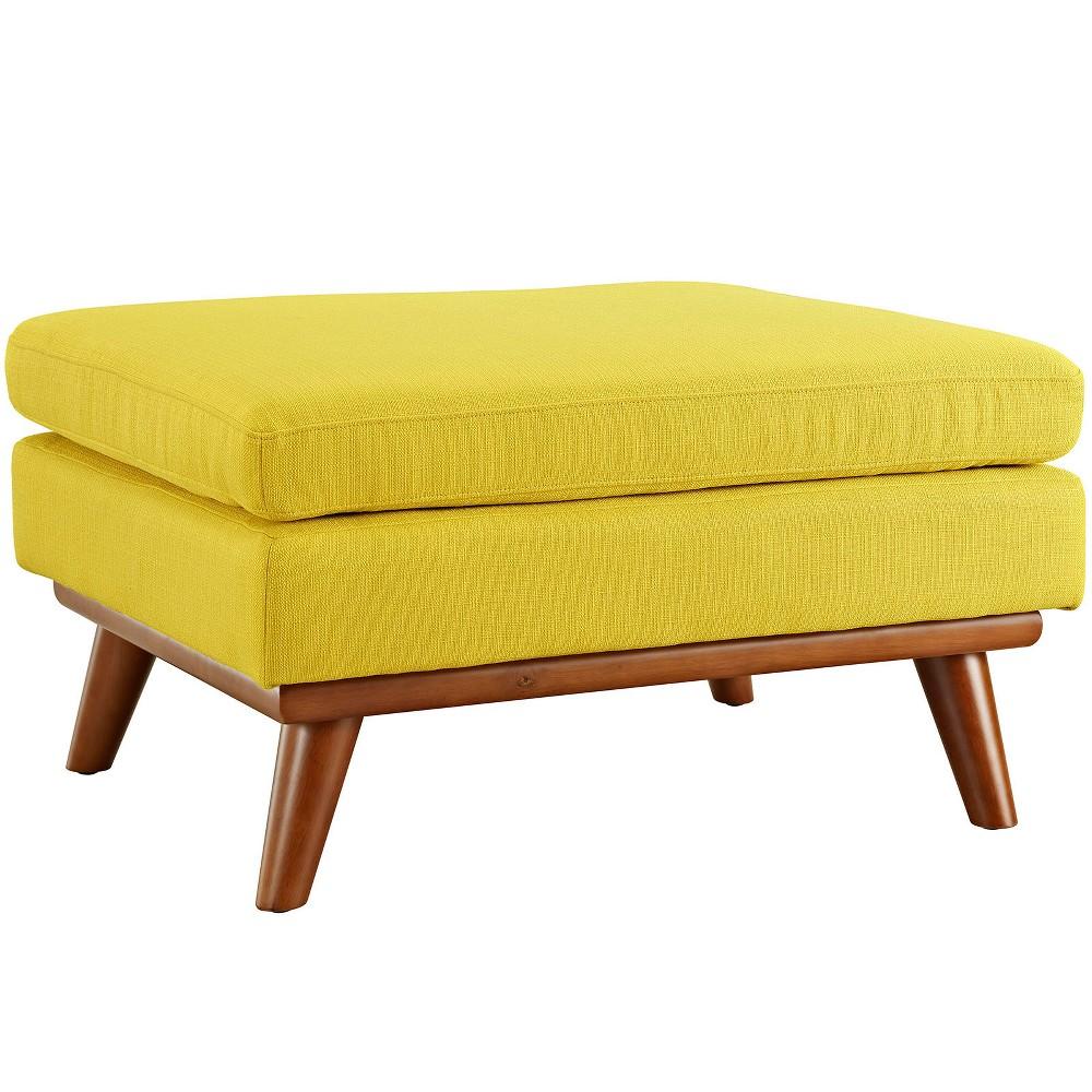 Engage Upholstered Fabric Ottoman Sunny - Modway