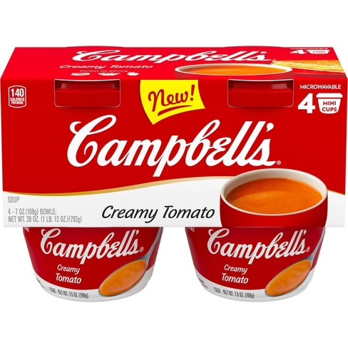 Campbell's Tomato Soup - 4pk/7oz cans - image 1 of 4
