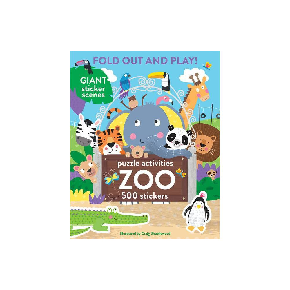 Zoo 500 Stickers And Puzzle Activities Paperback