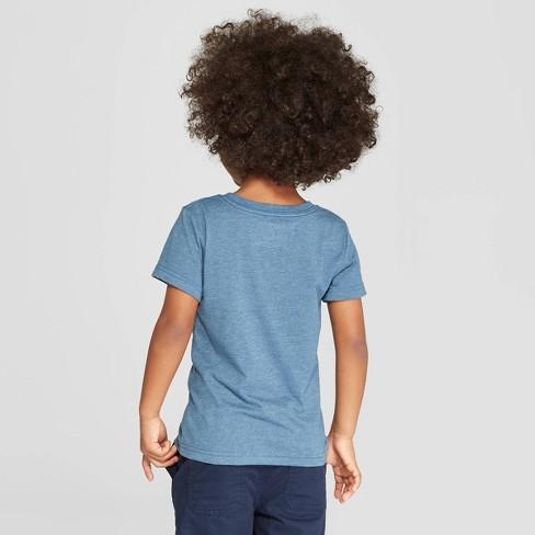 Toddler Boys Short Sleeve Birthday Dinosaur Hat Graphic T Shirt