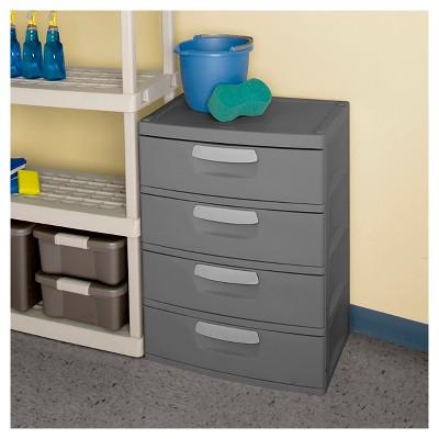 Merveilleux Sterilite® 4 Drawer Garage And Utility Storage Unit   Gray : Target