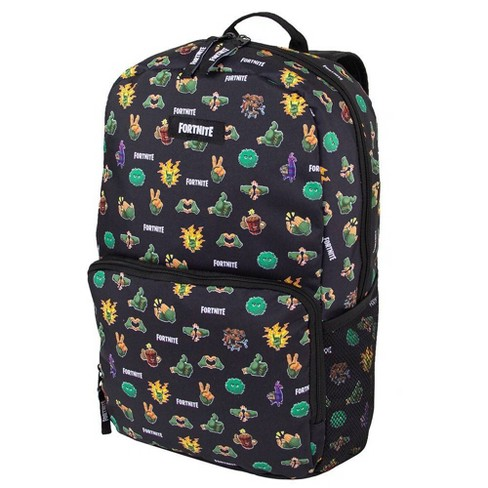 "Fortnite 18"" Kids' Amplify Backpack - Black - image 1 of 8"