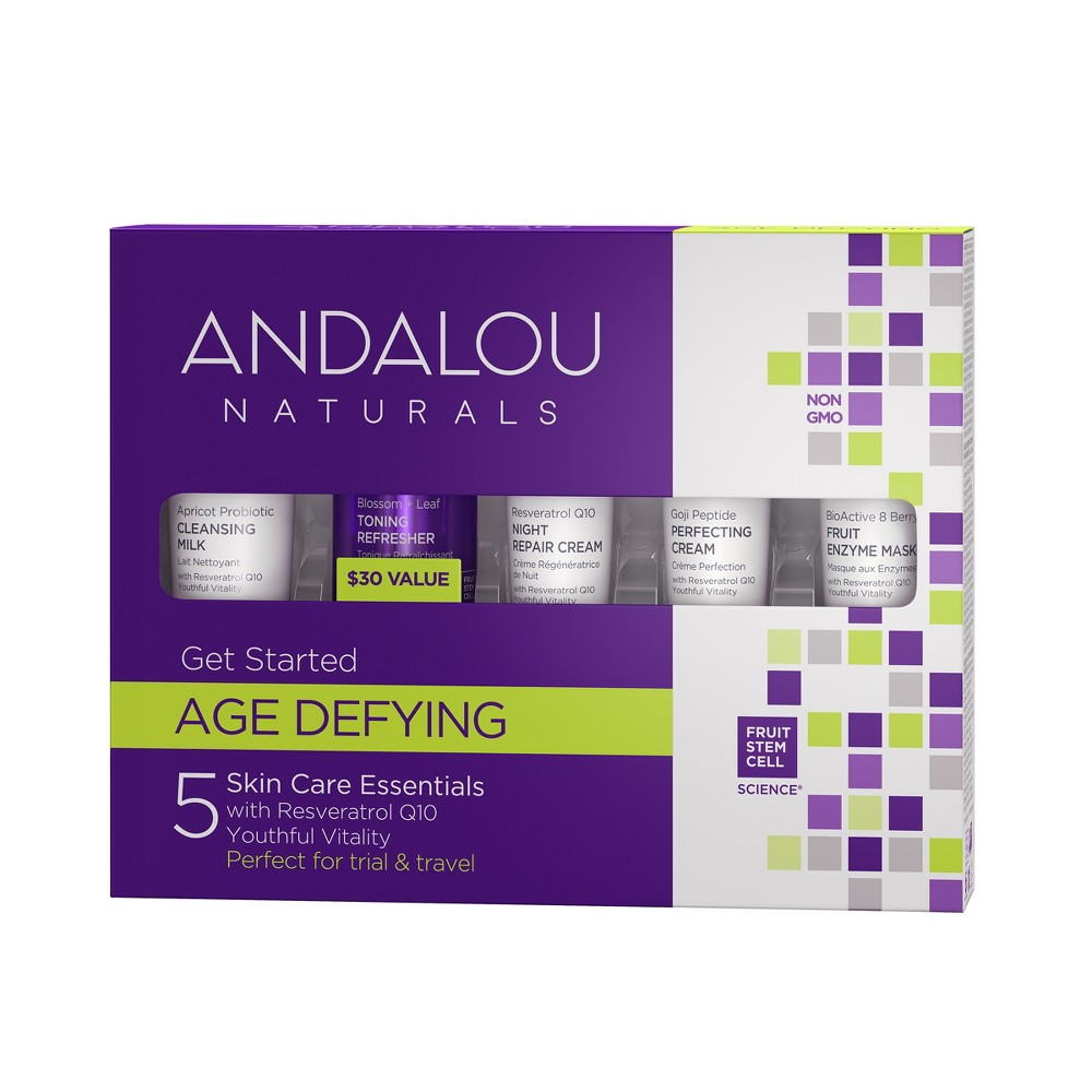 Image of Andalou Naturals Get Started Age Defying Kit - 5 Pc