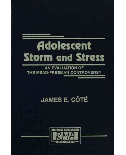 Adolescent Storm and Stress (Paperback) - image 1 of 1