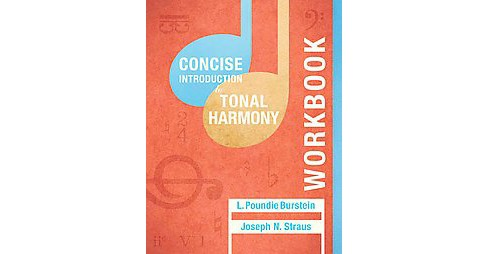 Concise Introduction to Tonal Harmony (Workbook) (Paperback) - image 1 of 1