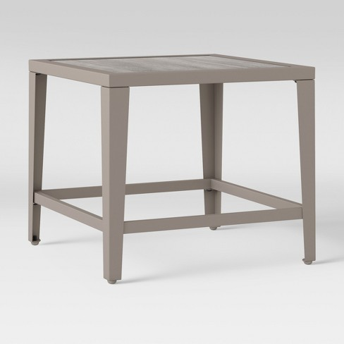 Foxborough Patio Side Table Brown Threshold Collections All