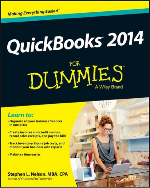 QuickBooks 2014 For Dummies by Stephen L. Nelson (Paperback) - image 1 of 1
