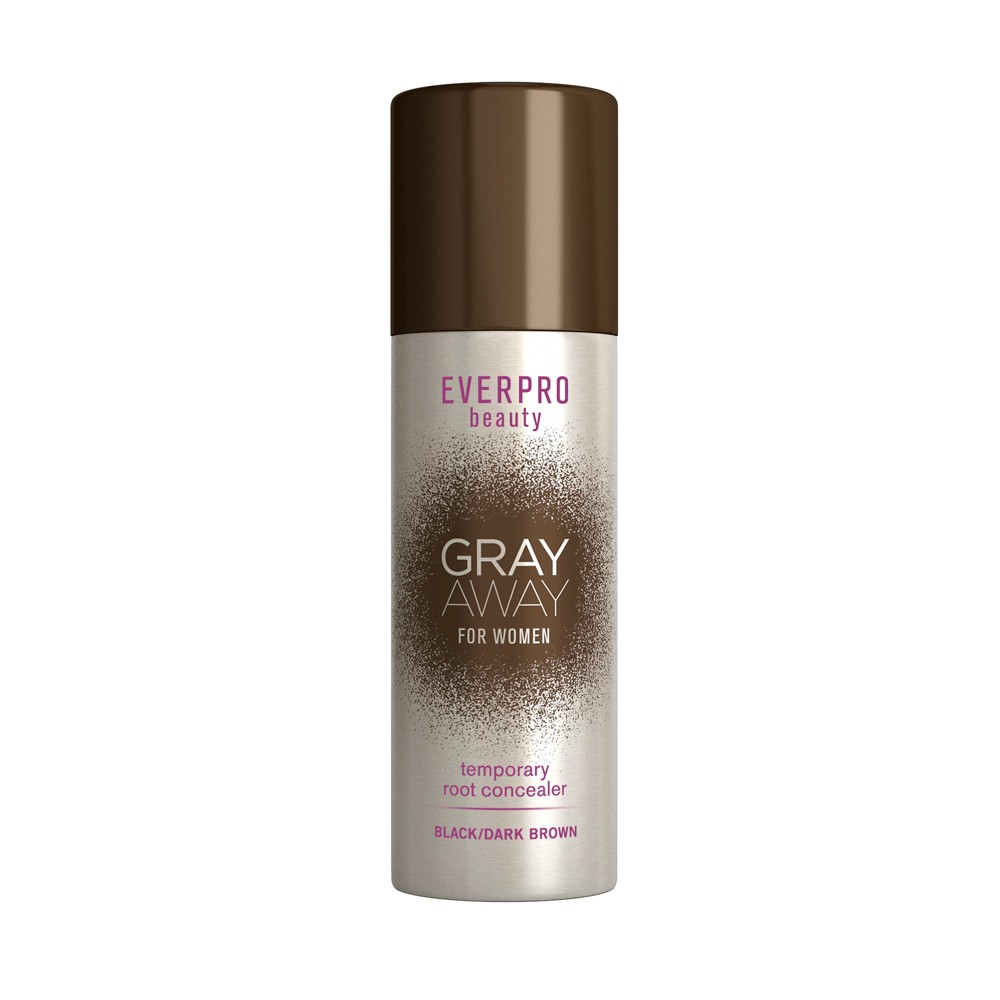 Image of Everpro beauty Gray Away Temporary Root Concealer - Black/Dark Brown - 1.5oz
