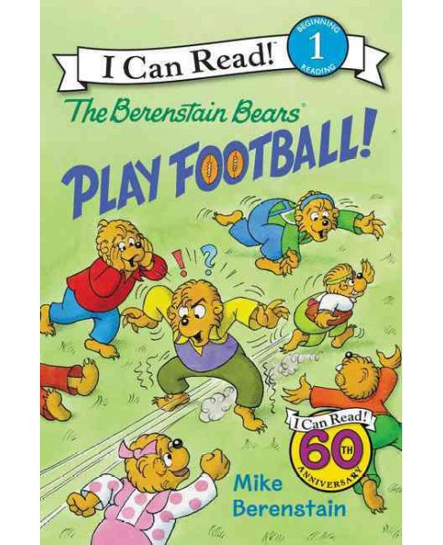 Berenstain Bears Play Football! (School And Library) (Mike Berenstain) - image 1 of 1