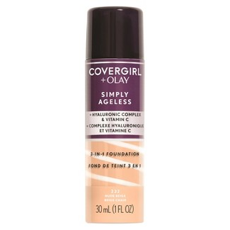 COVERGIRL® + Olay Simply Ageless 3-in-1 Foundation 232 Nude Beige 1 Fl Oz