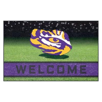 """NCAA LSU Tigers Crumb Rubber Door Mat 18""""x30"""""""