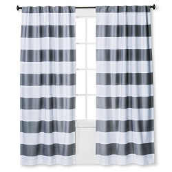 Twill Light Blocking Curtain Panel - Pillowfort™