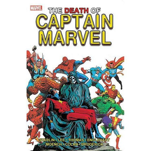 The Death of Captain Marvel - (Paperback) - image 1 of 1