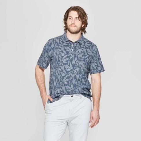 Men's Big & Tall Regular Fit Short Sleeve Slub Jersey Polo Shirt - Goodfellow & Co™ - image 1 of 2