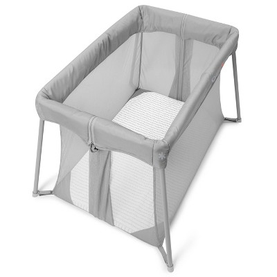 Skip Hop Portable Playard and Foldable Expanding Travel Crib/Playpen - Play to Night