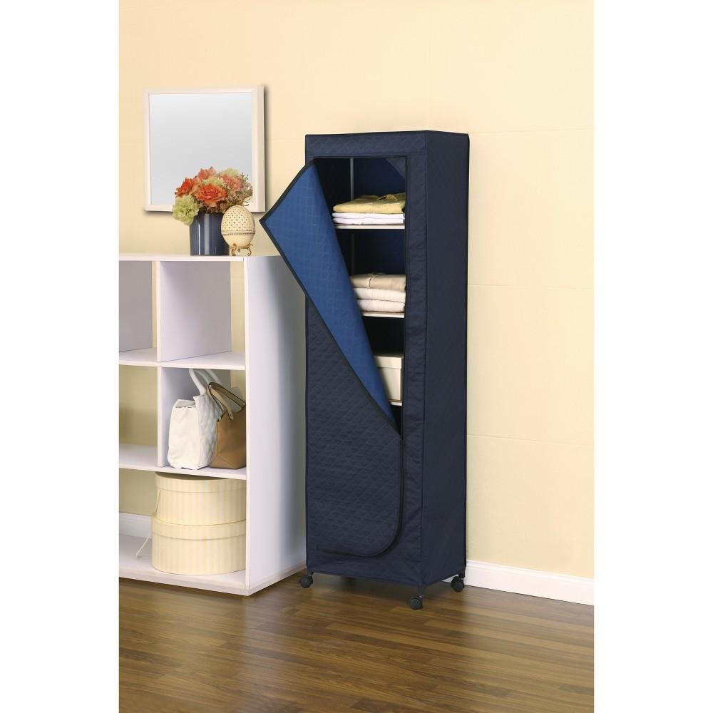 Image of Neu Home Stand Alone Closet Tower - Sapphire, Blue