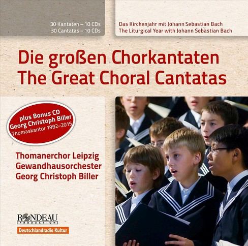 Various - Bach/Biller:Great choral cantatas (CD) - image 1 of 1