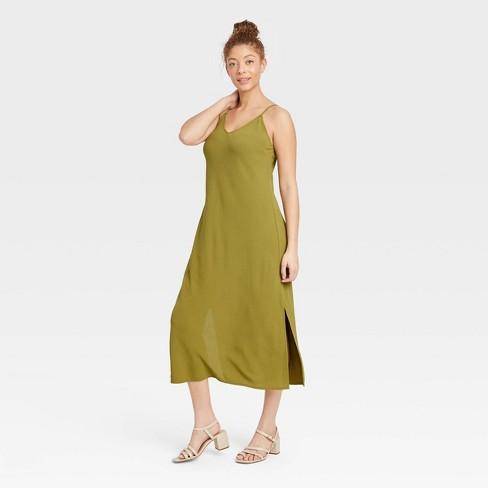 Women's Slip Dress - A New Day™ - image 1 of 3