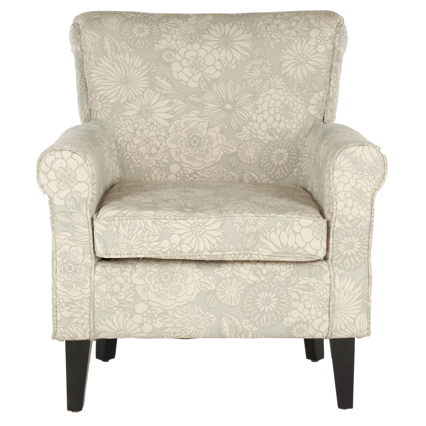 Safavieh Mercer Collection Margaret Ivory & Sage Floral Club Chair